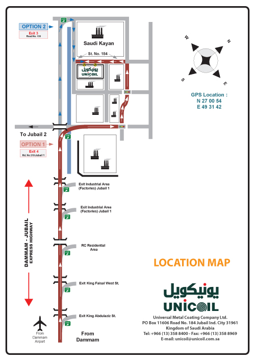 jubail-location-map