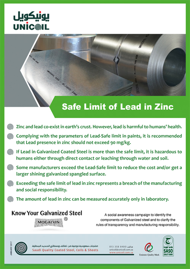Lead Safe Limit in GI Products